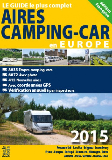 Annonce occasion, vente ou achat 'Aires camping-car en Europe 2015'
