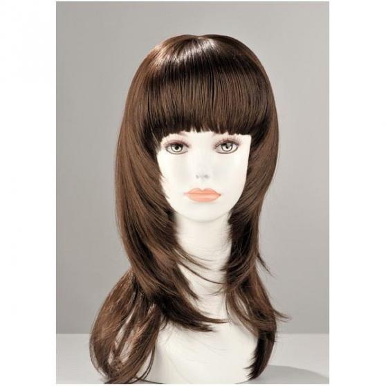 perruques brune neuve