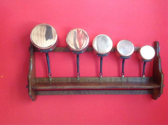 Casseroles cuivre pour cuisiner