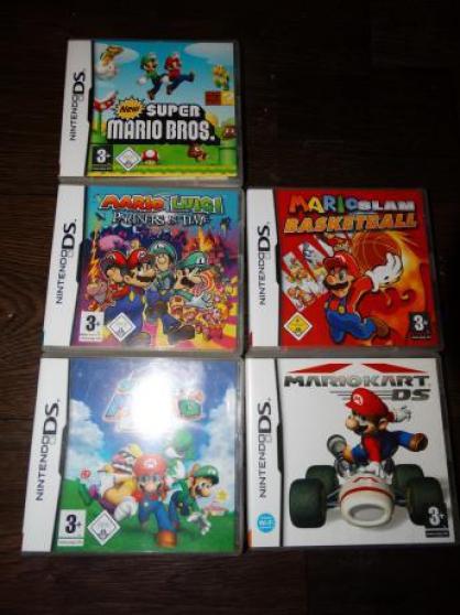 Annonce occasion, vente ou achat 'Jeux nintendo 2DS,3DS, Mario bross, kart'