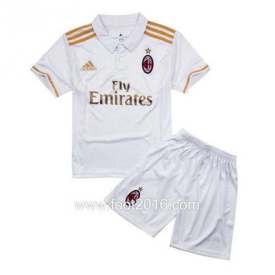maillot AC Milan extérieur 16-17 enfants