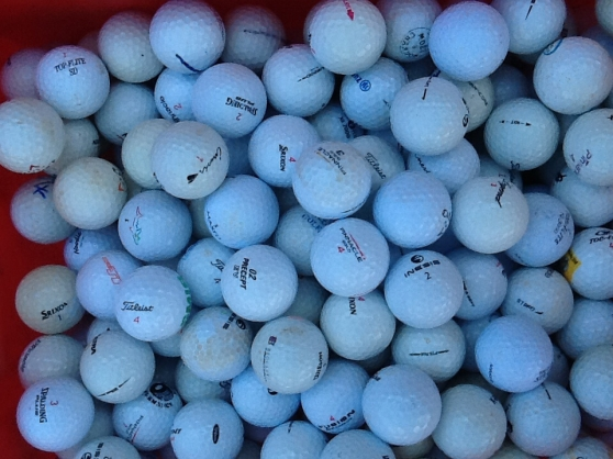 Annonce occasion, vente ou achat 'Balles de golf d occasion'