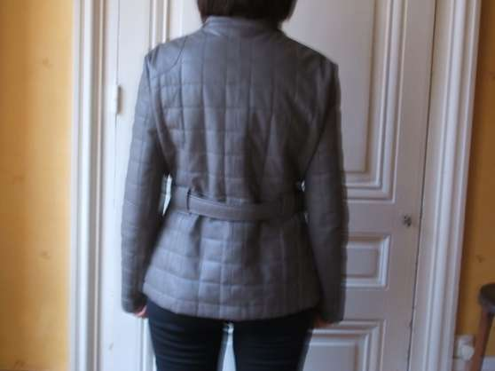 Vest en cuir J.sébastien Nassal - Photo 2