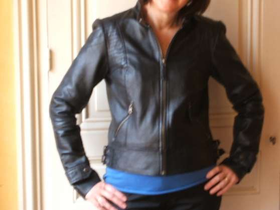 Vest en cuir J.sébastien Nassal - Photo 3