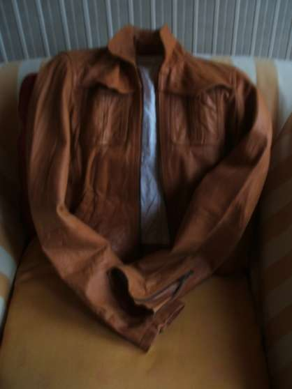 Vest en cuir J.sébastien Nassal - Photo 4