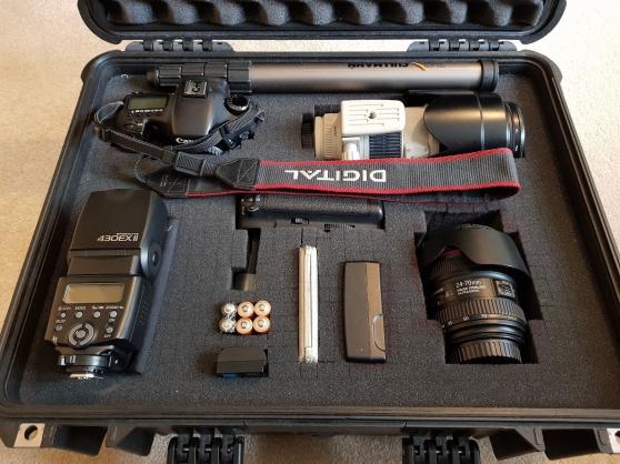 kit canon 7d - objectifs - flash - filtr - Annonce gratuite marche.fr