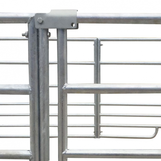 Enclos à bétail 137x137x92cm NEUF - Photo 4