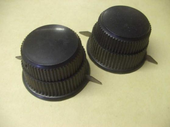 4 boutons de CV de postes batterie