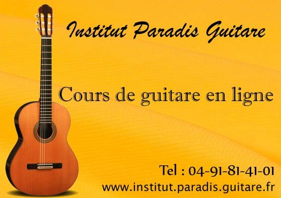 Annonce occasion, vente ou achat 'Cours de guitare en ligne'