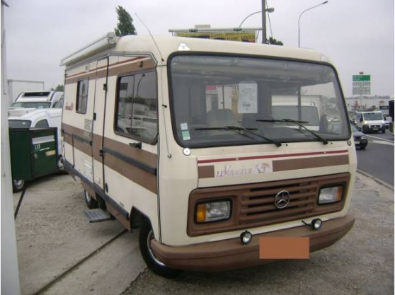 mercedes camping car levoyager 307d 1987 caravanes camping car camping car dijon reference. Black Bedroom Furniture Sets. Home Design Ideas