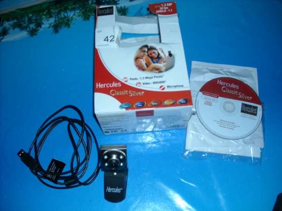 webcam hercules silver