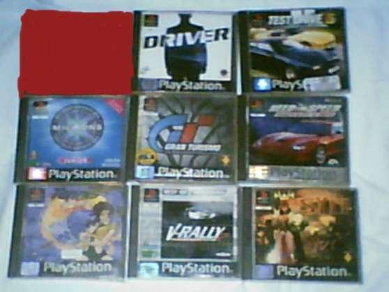 Les 8 jeux ps1 12 euros