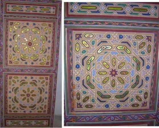 Formation tadelakt et peinture sur bois maroc rabat for Formation peinture sur meuble