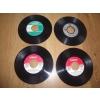 Disque Vinyles 45 tours sans Pochettes