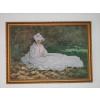 Tableau reproduction Claude Monet