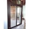 Porte-fenêtre à 2 ventaux & chassis fixe