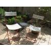 3 chaises pliables