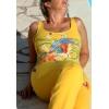 combinaison moulante jaune avec motif - Annonce gratuite marche.fr