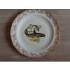 12 assiettes + 1 plat poisson  porcelain