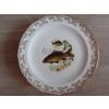 12 assiettes + 1 plat poisson  porcelain - Annonce gratuite marche.fr
