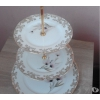 1 présentoire à gâteaux 3 étages - Annonce gratuite marche.fr