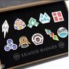 badges des differentes ligues pokemon - Annonce gratuite marche.fr