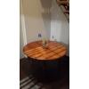 TABLE LOUIS-PHILIPPE ACAJOU BLOND CUBA