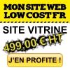 Votre site vitrine pour 499,00 euro HT !