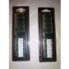 Mémoires PC lot de 2 RAM 512 MO DDR2