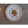 12 assiettes + 1 plat gibier porcelaine