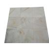 Marbre Blanc Bianco Giallo 40x40 cm