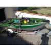 Barque de pêche en aluminium