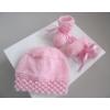 trousseau rose tricot laine bébé fait ma - Annonce gratuite marche.fr