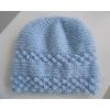 bonnet chaussons bleus tricot laine fait - Annonce gratuite marche.fr