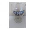 1 verre berger blanc hauteur 10 cm