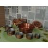 Casseroles & confiturier cuivre