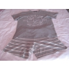Pyjashort gris