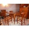 meuble en merisier avec table ronde - Annonce gratuite marche.fr