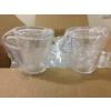 Tasses à café plastique transparent