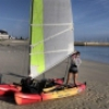 Catamaran modifiable et transportable
