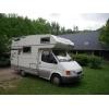 Camping car hymer camp