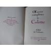 bibliophilie: oeuvres complètes colette - Annonce gratuite marche.fr