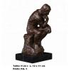 Sculpture '' Penseur d'Auguste Rodin ''