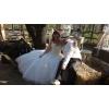 Robe de mariée ivoire type meringue