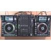 2 platines DJ SC5000 Denon DJ et  table