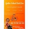 Cours de guitare chez vous