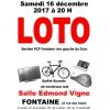 Loto de Noël  16 décembre 2017 à 20 H