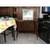TV couleur 36cm + son meuble à roulettes